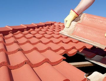 replacing a cement roof tile in jhb